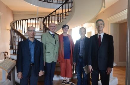 Glenn Ehrstine, Herbert Quelle, Elizabeth Heineman, H. Glenn Penny, and Barry Butler