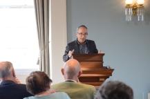 Co-organizer H. Glenn Penny (History, CLAS) opens the Symposium