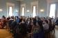 Audience members listen to Professor Trommler's lecture