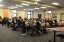 The Symposium audience
