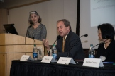 The Lincoln Project: Excellence and Access in Public Higher Education has considered the implications of reduced state investment in public higher education; assessed the role of the federal government in funding our great public research universities; and developed recommendations for ensuring that public universities continue to serve the nation as engines of economic development and opportunity for Americans from all backgrounds.Lincoln Project Panel Discussion composed of Bruce Harreld, Phyllis Wise, Jim Leach, and Mary Sue Coleman