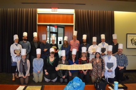Final Mellon Sawyer Seminar celebration (in Manichaean costume!)